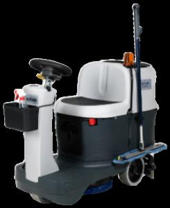 Lavadora de pisos automática a baterias para áreas médias