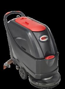 Lavadora de pisos automática a baterias para remoção de acabamento