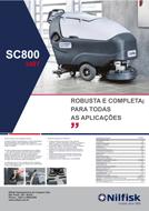 Folheto Nilfisk SC800