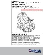 Manual de serviço da Nilfisk Adgressor