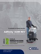Folheto Nilfisk Adfinity X20