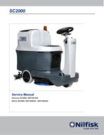 Manual de serviço da SC2000