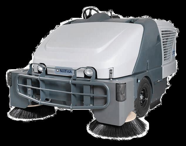 Varredeira de Pisos Industrial Tripulada SW8000