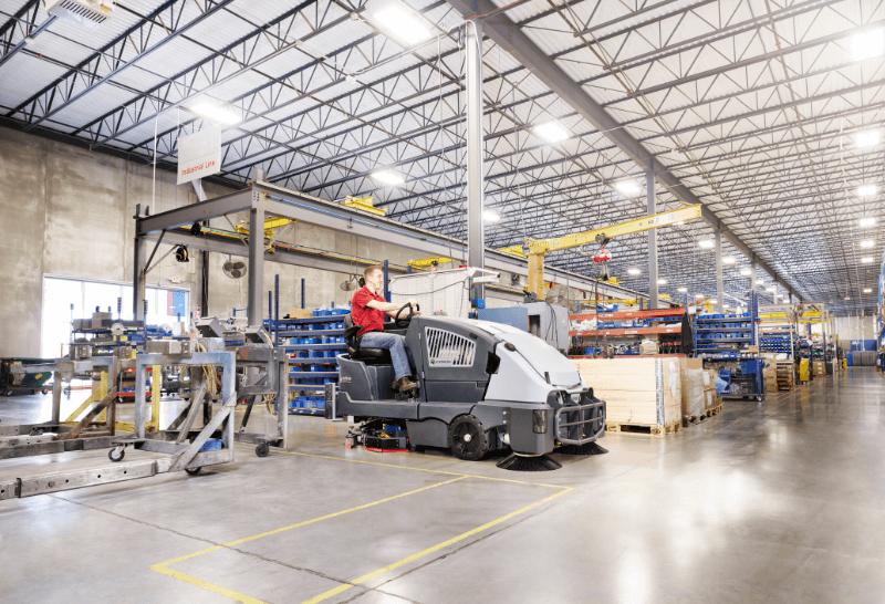 Lavadora Hibrida CS7010 de alta produtividade