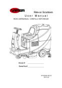 Manual do usuário/Lista de peças AS710R