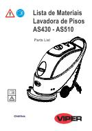 Lista de materiais AS430-510