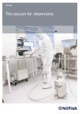 Folheto do aspirador de salas limpas IVT 1000