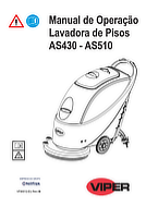 Manual de operação da AS430-510
